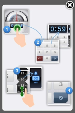 ParkBud Startbildschirm