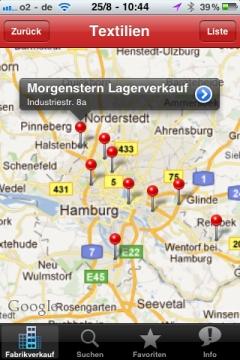 Fabrikverkauf Karte Outlet Suchergebnis