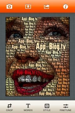 WordFoto Startbildschirm