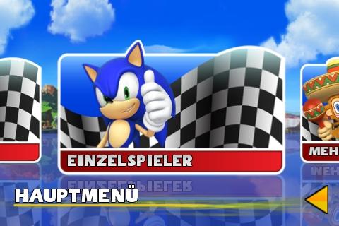 Sonic & Sega All Star Racing Spielmodi