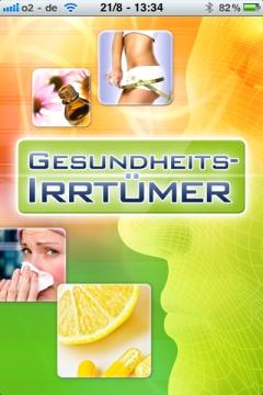 Gesundheits-Irrtümer App