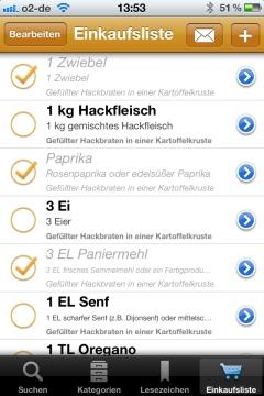 Rezepte Kochrezepte App