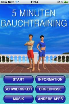 Bauchmuskeltraining App