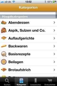 Die Rezepte Kochrezepte App