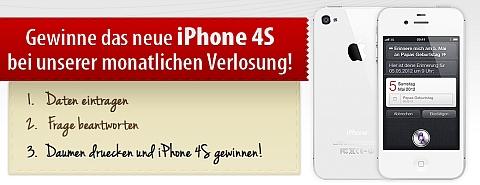 iPhone 4S Gewinnspiel