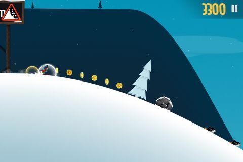 Ski Safari im Spiel
