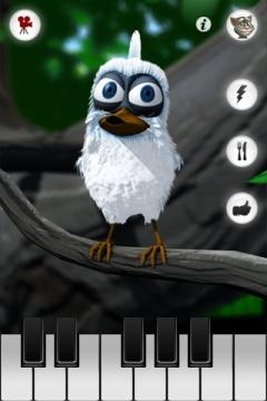 Sprechender Vogel Larry App