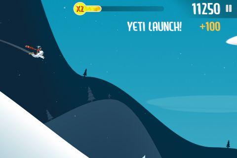 Ski Safari Yeti