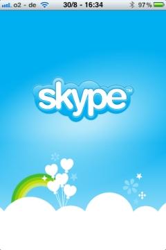 Skype App Start