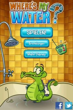 krokodil wasser spiel
