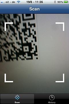 Scan QR Code Scanner