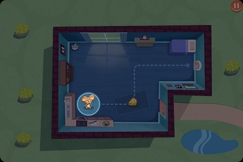 SPY Mouse im Spiel
