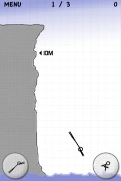 Stickman Cliff Diving App