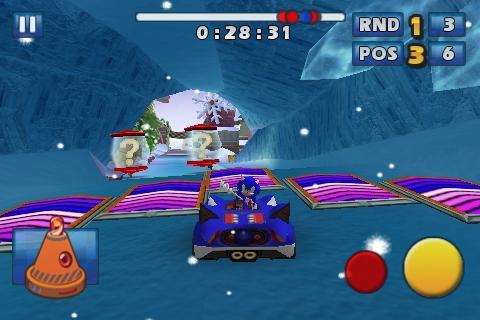 Sonic & Sega All-Stars Racing Rennen