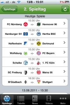 iLiga 2. Spieltag