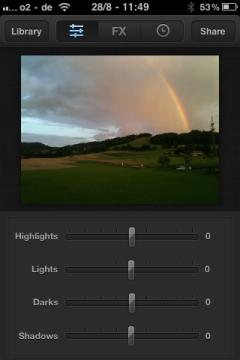 Luminance Bilder bearbeiten