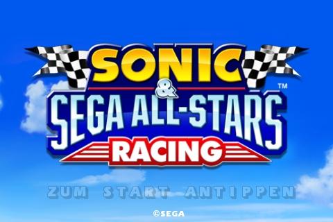 Sonic & Sega All-Stars Racing Start